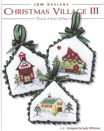 click here to view larger image of Christmas Village III (chart)