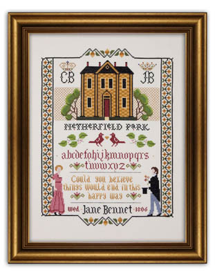 click here to view larger image of Jane Bennet Wedding Sampler (chart)