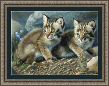 click here to view larger image of Bobcat Kittens (chart)