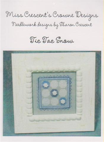 click here to view larger image of Tic Tac Snow (Miss Crescents Crown) (chart)