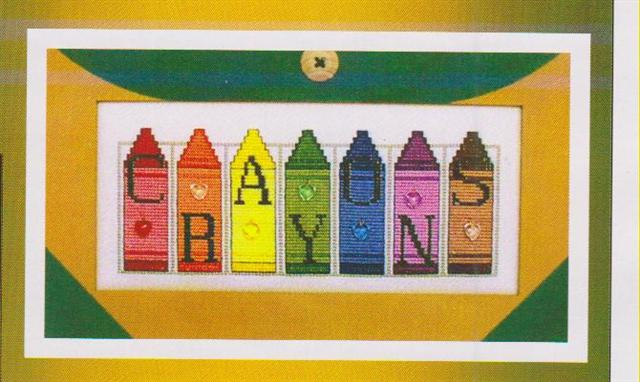 click here to view larger image of Crayons (Jelly Mini Blocks) (chart)