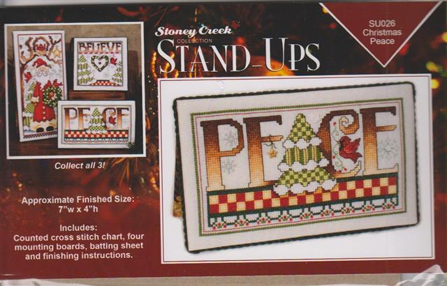 click here to view larger image of Christmas Peace (Stand-ups) (chart)