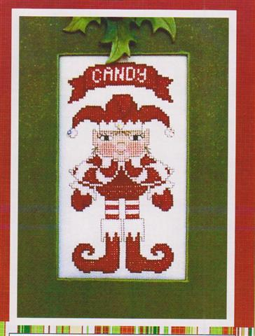 click here to view larger image of Crystal Elfkin - Candy (chart with charms/buttons)