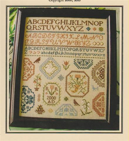 click here to view larger image of Quaker Medallion Sampler (chart)