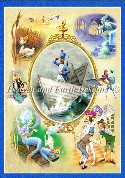 click here to view larger image of Hans Andersons Fairy Tales (chart)
