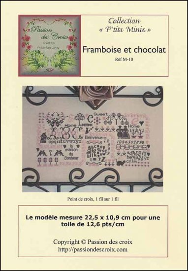 click here to view larger image of Framboise et Cholcolat  (chart)