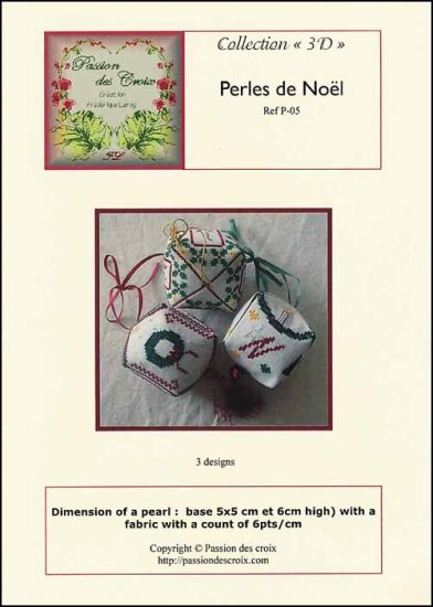 click here to view larger image of Perles De Noel  (chart)