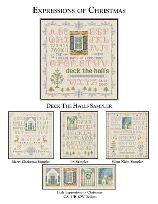 click here to view larger image of Deck The Halls Sampler (chart)