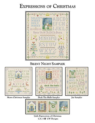 click here to view larger image of Silent Night Sampler (chart)