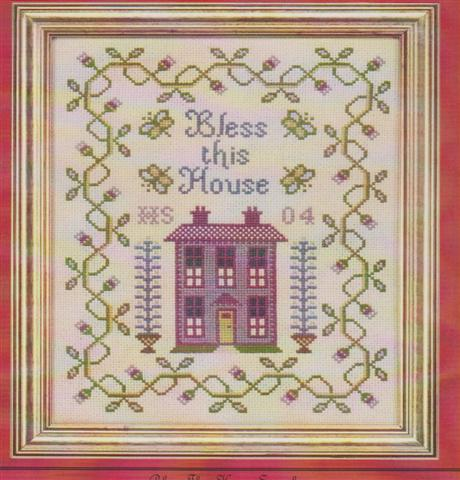 click here to view larger image of Bless This House Sampler (chart)