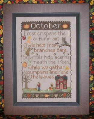 click here to view larger image of Monthly Sampler - October (chart)