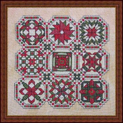 click here to view larger image of Rebeccas Quilt (chart)