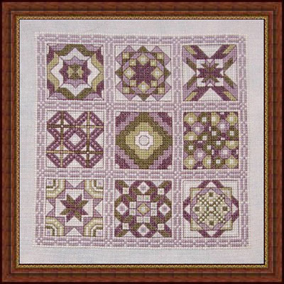 click here to view larger image of Bella's Quilt (chart)
