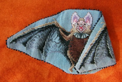 click here to view larger image of Mr Baron Von Bat - Needleminder (chart)