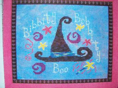 click here to view larger image of Bibbity, Bobbity, Boo! (chart)