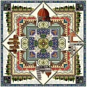click here to view larger image of Tuscany Town Mandala (chart)