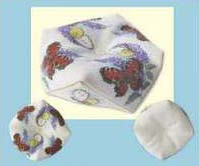 click here to view larger image of Butterflies and Buddlea Tuffet (counted cross stitch kit)