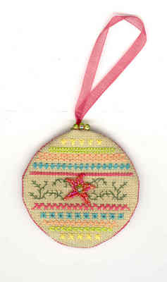 click here to view larger image of Baja Christmas T-nintzee (counted cross stitch kit)