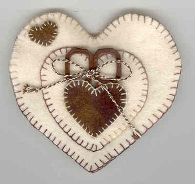 click here to view larger image of Chocolate Covered Hearts Needlebook (None Selected)