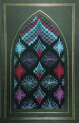 click here to view larger image of Stained Glass Ornament 2 (counted canvas chart)
