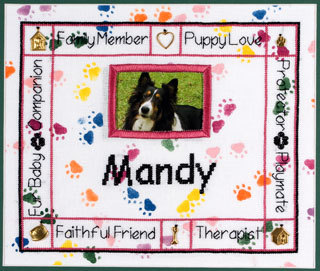 click here to view larger image of Charmed Dog Sampler (chart)