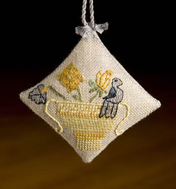 click here to view larger image of Bird In Basket Scissor Fob (chart)
