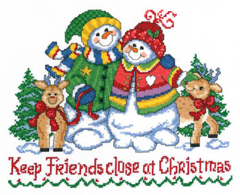click here to view larger image of Keep Friends Close At Christmas (chart)