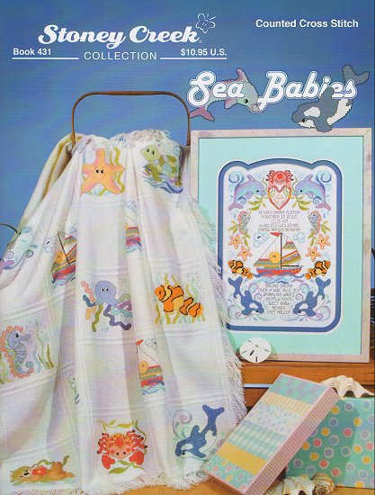 click here to view larger image of Sea Babies  (Book 431) (chart)
