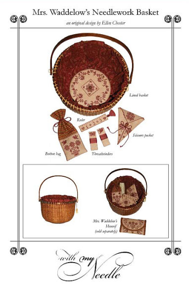 click here to view larger image of Mrs Waddelow's Needlework Basket (chart)