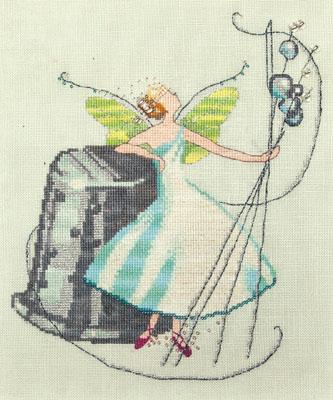 click here to view larger image of Stitching Fairies - Thimble Fairy (chart)