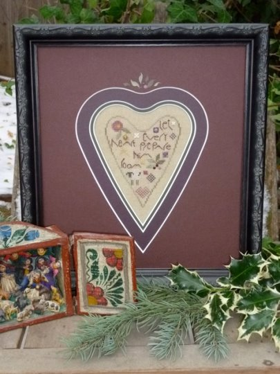 click here to view larger image of Every Heart (counted cross stitch kit)