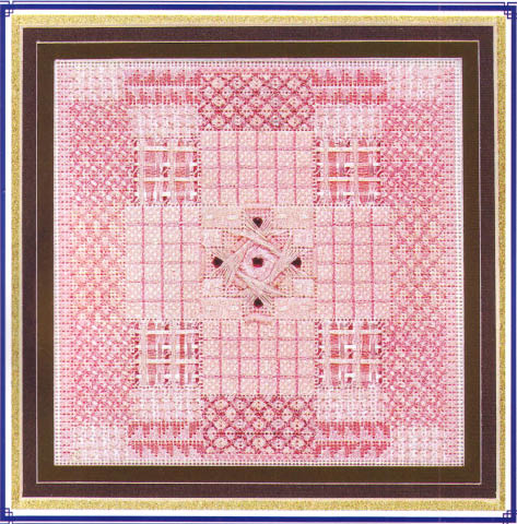 click here to view larger image of Glitz Glamour Kunzite (counted canvas chart)