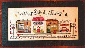 click here to view larger image of Wrong Side Of The Tracks - Bubba's Bail Bonds (chart)