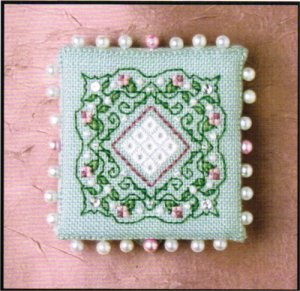 click here to view larger image of Colonial Roses Pin Keep (chart)