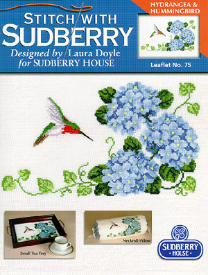 click here to view larger image of Hydrangea & Hummingbird (chart)