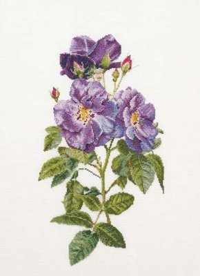 click here to view larger image of Rhapsody in Blue - Aida (counted cross stitch kit)