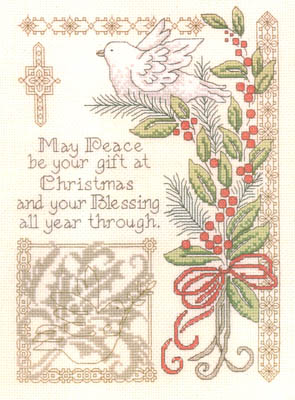 click here to view larger image of Gift Of Christmas - Kit (counted cross stitch kit)