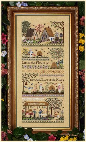 click here to view larger image of Babe's Honey Farm with main accessory pack (chart)