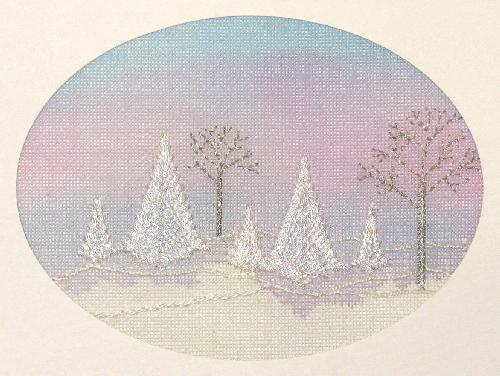 click here to view larger image of Winter Dawn (KIT) - NLA 10-20-2015 (needlepoint)