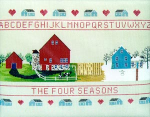 click here to view larger image of Four Seasons Sampler (chart)
