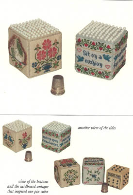 click here to view larger image of Pair of Pin Cubes (chart)