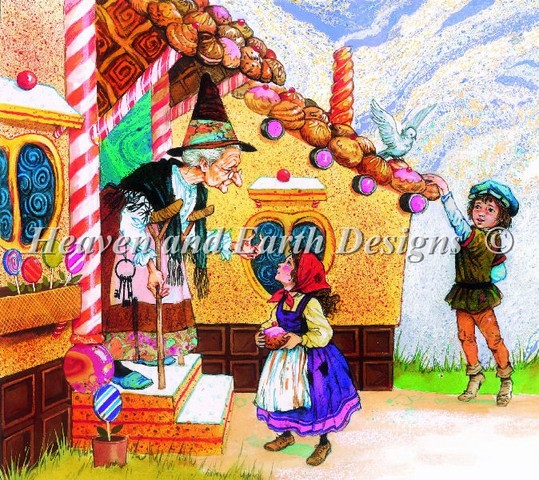 click here to view larger image of Hansel and Gretel and Witch (chart)