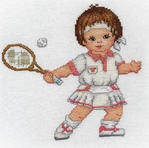 click here to view larger image of Tennis Girl (chart)