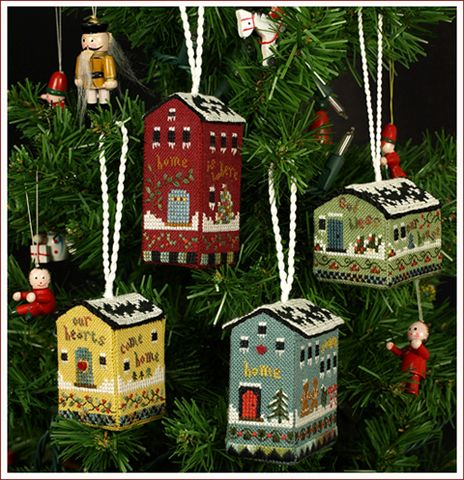 click here to view larger image of Beautiful Finishing 3 - Little House Ornaments (chart)