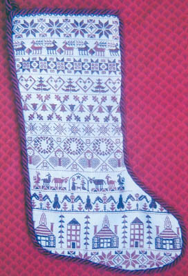 click here to view larger image of Grandma's Stocking (chart)