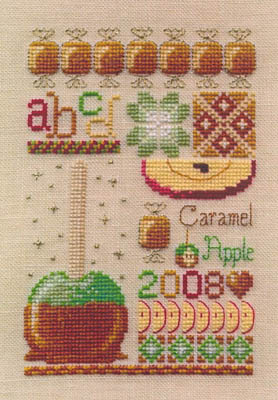click here to view larger image of Caramel Apple Sampler (chart)