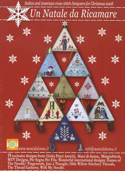 click here to view larger image of Un Natale Da Ricamare 2008 (Red Book) (book)
