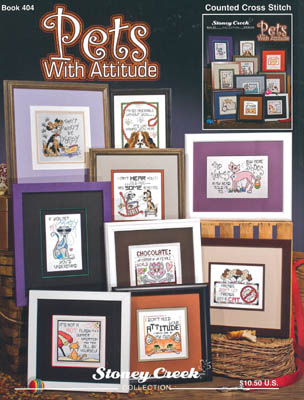 click here to view larger image of Pets With Attitude (book)