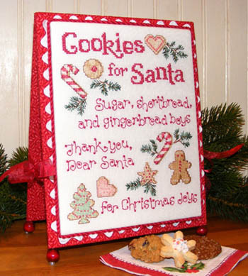 click here to view larger image of Cookies For Santa (chart)