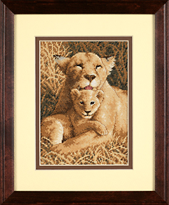 click here to view larger image of Mother's Pride (counted cross stitch kit)